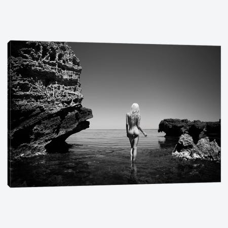 Walking On Water Canvas Print #MPN59} by Aaron McPolin Canvas Art