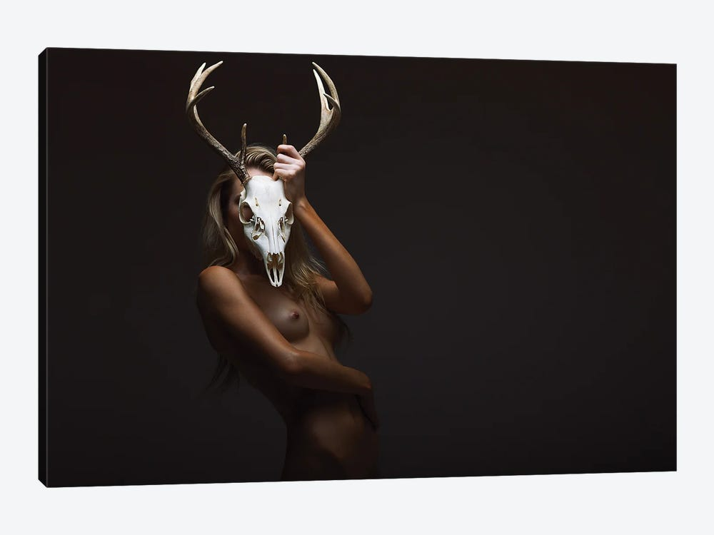 Cernunnos Old Spirit by Aaron McPolin 1-piece Canvas Wall Art