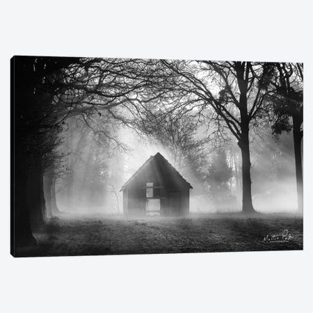 The Shed Canvas Print #MPO106} by Martin Podt Art Print