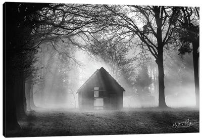 The Shed Canvas Art Print