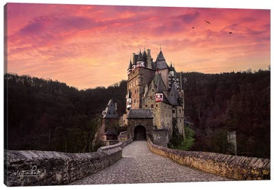 Burg Eltz Canvas Art Print