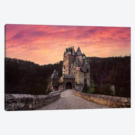 Burg Eltz Canvas Print #MPO11} by Martin Podt Canvas Art Print