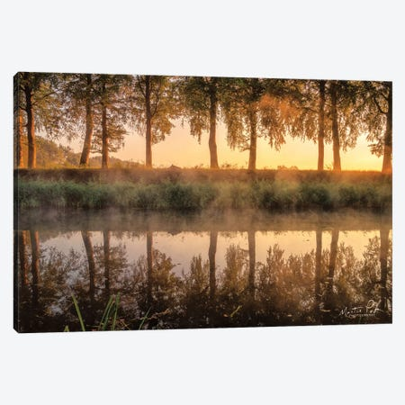 Sunrise In The Netherlands Canvas Print #MPO142} by Martin Podt Canvas Wall Art