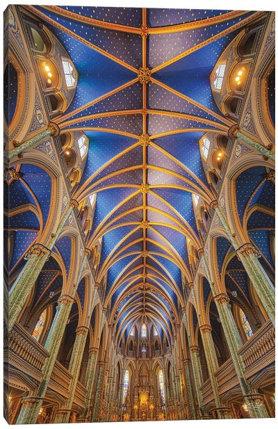 Notre-Dame Cathedral Basilica Canvas Art Print