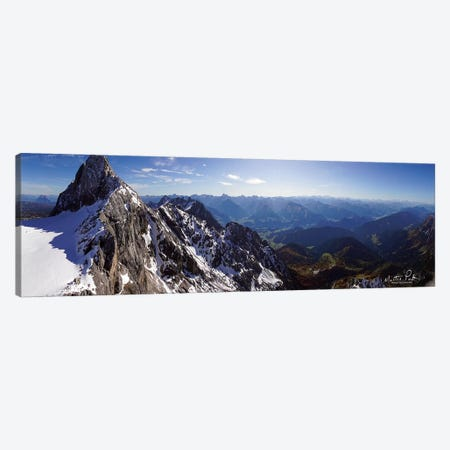 View from Dachstein Canvas Print #MPO48} by Martin Podt Canvas Art