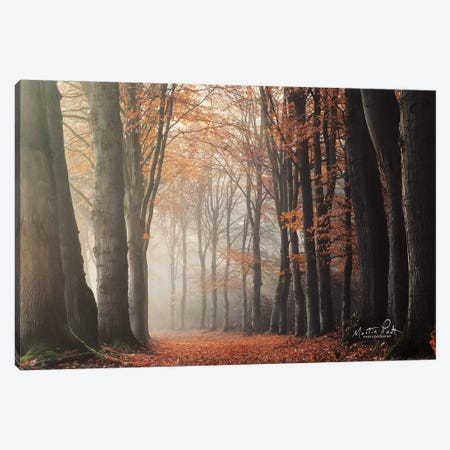 Around the Corner Canvas Print #MPO54} by Martin Podt Canvas Art
