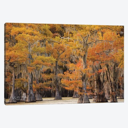 Autumn's Painting 3-Piece Canvas #MPO5} by Martin Podt Canvas Wall Art
