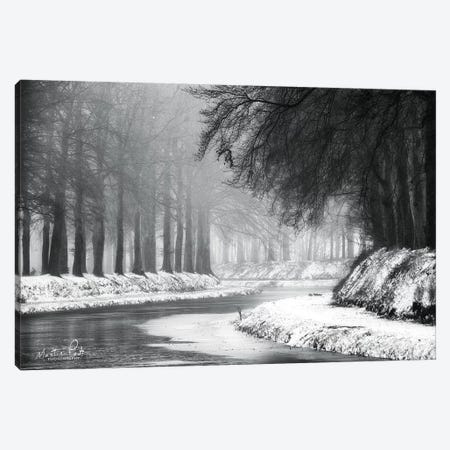 Winter River Canvas Print #MPO87} by Martin Podt Art Print