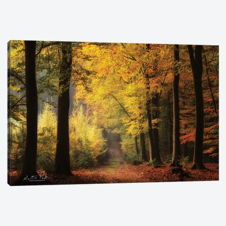 Autumn Mood 3-Piece Canvas #MPO89} by Martin Podt Canvas Art