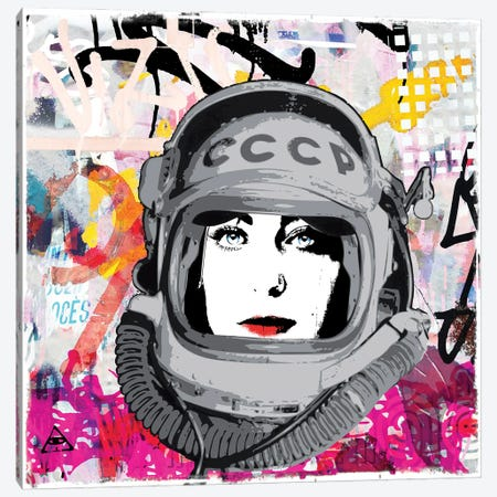 Cosmo Canvas Print #MPS15} by Morgan Paslier Canvas Artwork