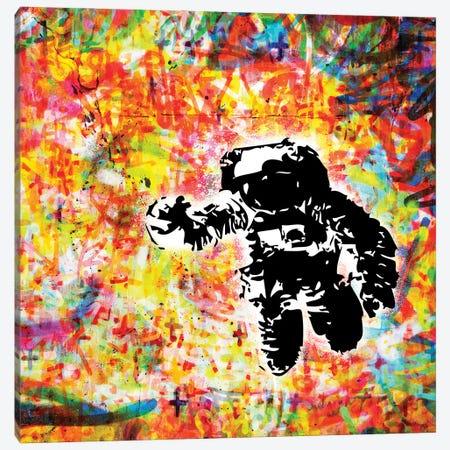 Space - Colors Canvas Print #MPS19} by Morgan Paslier Canvas Print