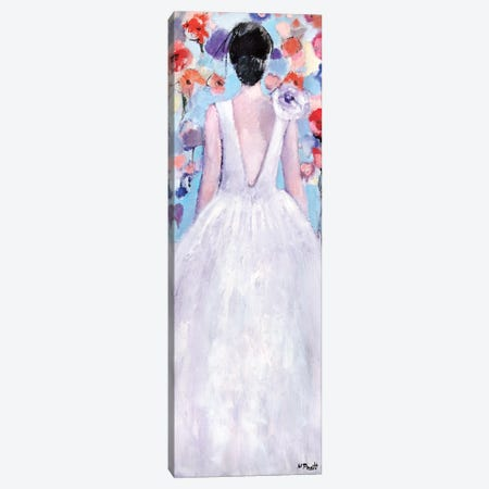Flowery Canvas Print #MPT10} by Mary Pratt Canvas Wall Art
