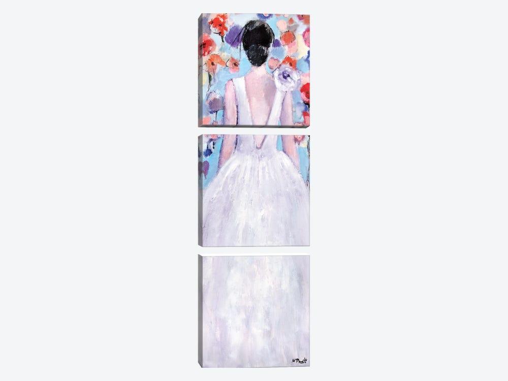 Flowery by Mary Pratt 3-piece Canvas Wall Art