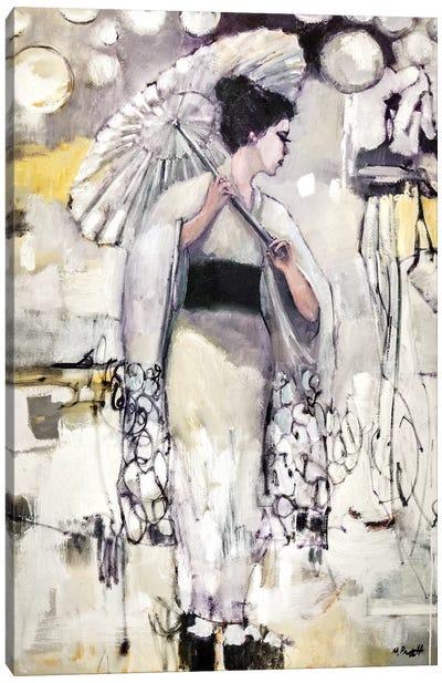 Geisha Atmosphere Canvas Art Print