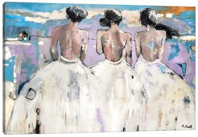 Ladies In Waiting Canvas Art Print