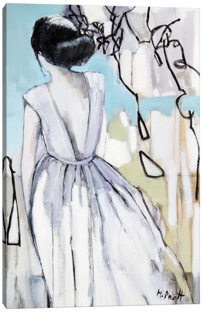 A Patterned Response Canvas Art Print