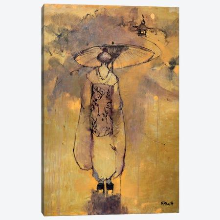 Orange Light Geisha Canvas Print #MPT22} by Mary Pratt Canvas Art Print