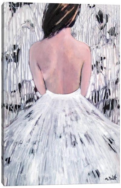 Patterns In White Canvas Art Print