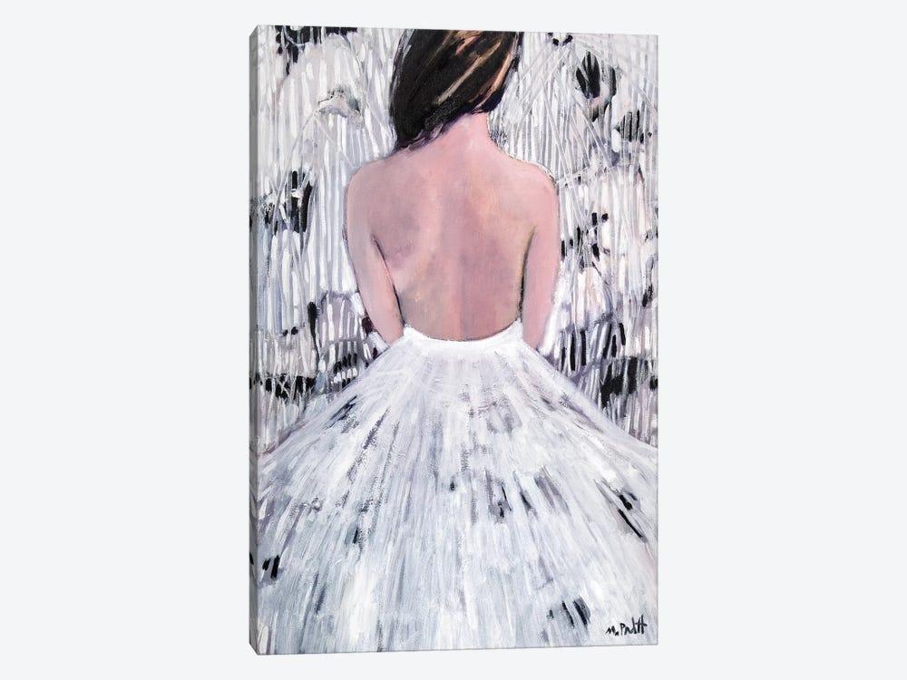 Patterns In White by Mary Pratt 1-piece Canvas Art
