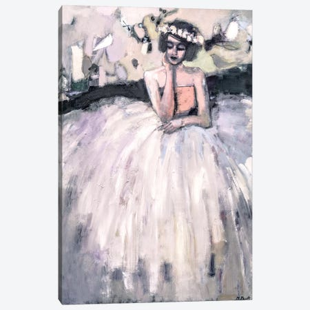 Seated Nonchalantly Canvas Print #MPT25} by Mary Pratt Canvas Artwork