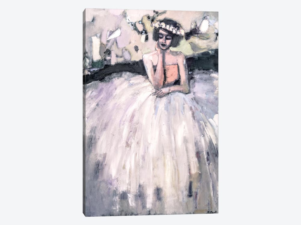 Seated Nonchalantly by Mary Pratt 1-piece Canvas Wall Art