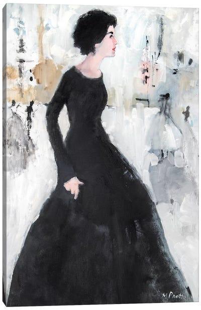 Side Beauty Canvas Art Print