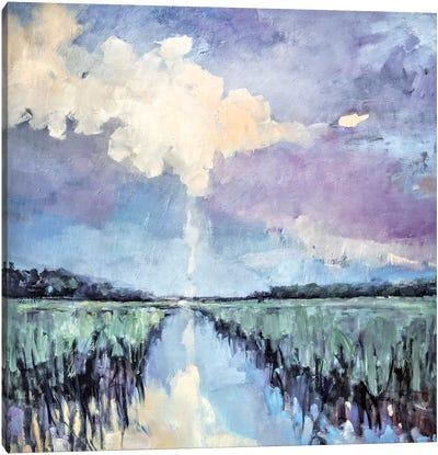 Amber Skies Canvas Art Print