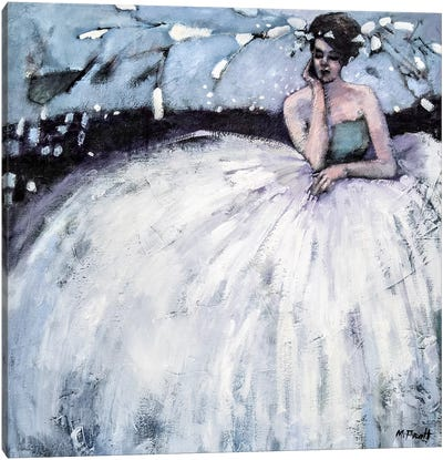 Beauty In A Bubble Canvas Art Print