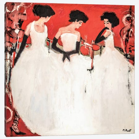 China Red Canvas Print #MPT6} by Mary Pratt Canvas Art