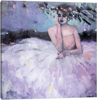 Dreaming In Crinoline Canvas Art Print