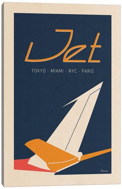 Jet Canvas Art Print