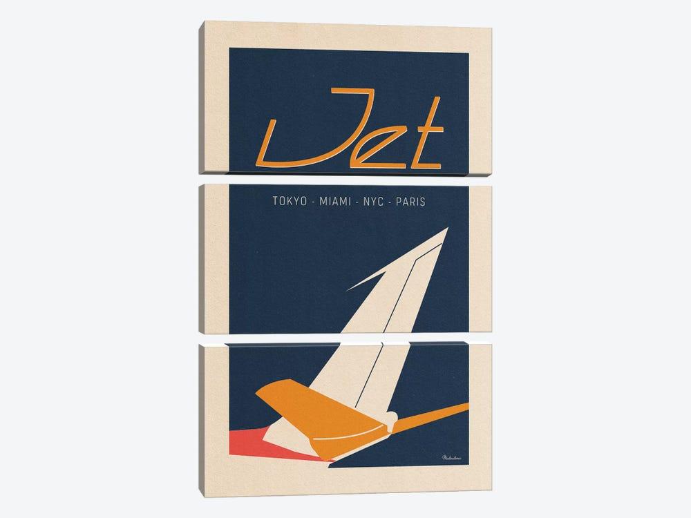 Jet by Misteratomic 3-piece Art Print