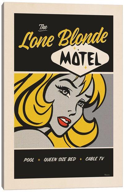 Lone Blonde Canvas Art Print