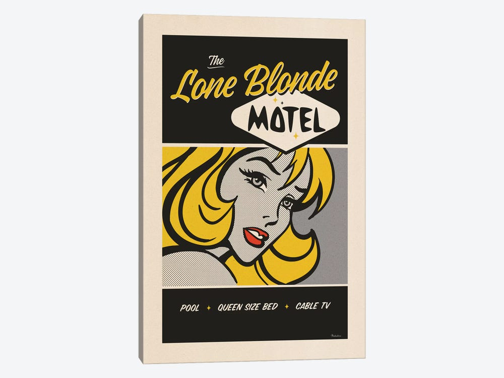 Lone Blonde by Misteratomic 1-piece Canvas Artwork