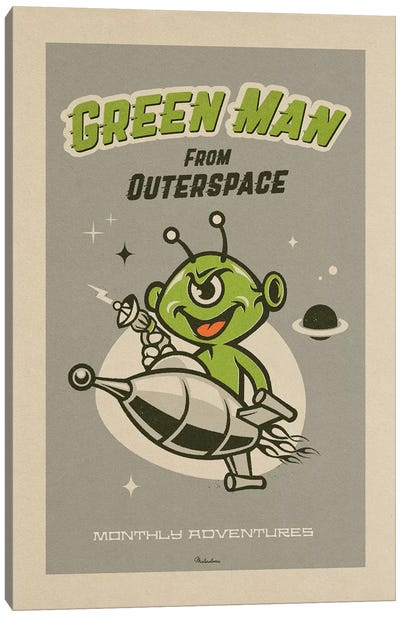Outerspace Canvas Art Print