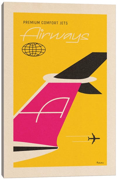 Airways Canvas Art Print