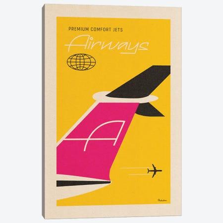 Airways Canvas Print #MRA1} by Misteratomic Canvas Print
