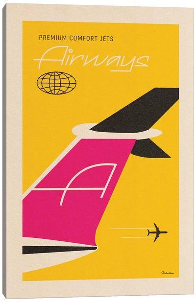 Airways Canvas Art Print