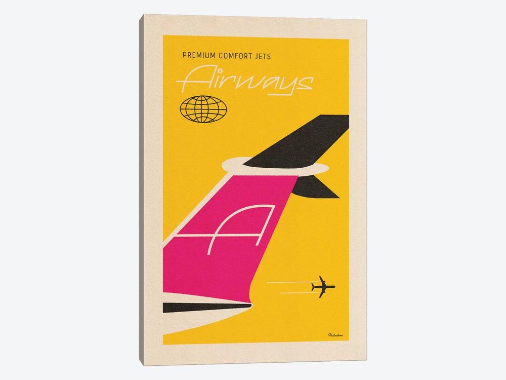 Airways by Misteratomic 1-piece Canvas Art