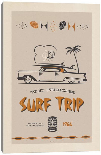Surf Trip Canvas Art Print