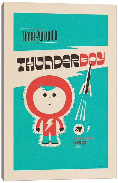 Thunderboy Canvas Art Print