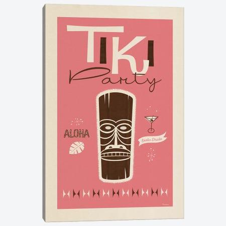 Tiki Party Canvas Print #MRA24} by Misteratomic Canvas Art