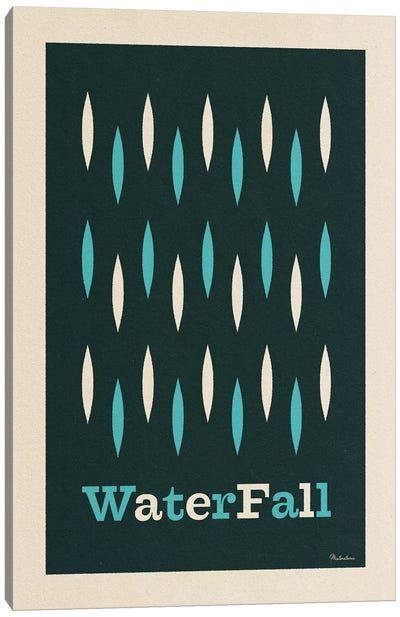 Waterfall Canvas Art Print