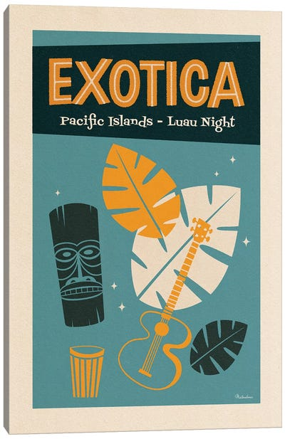 Exotica Canvas Art Print