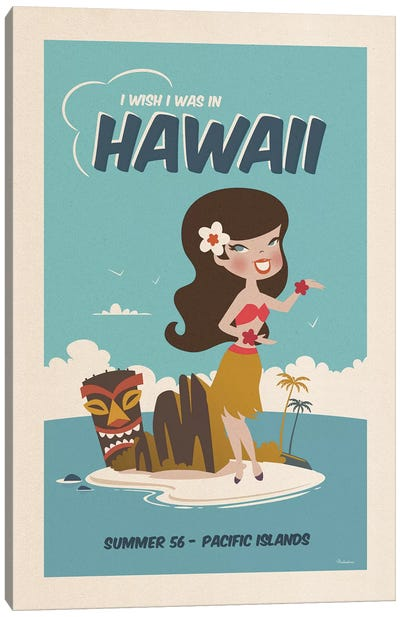 Hawaii Canvas Art Print