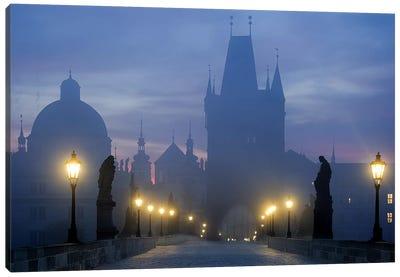 Prague is awakening Canvas Art Print