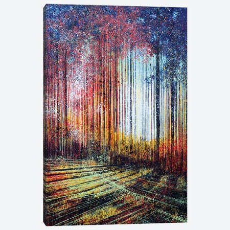 Sunlight Through The Trees Canvas Print #MRC10} by Marc Todd Canvas Artwork