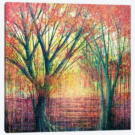 The Red Trees Canvas Print #MRC13} by Marc Todd Canvas Wall Art