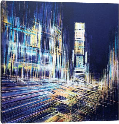 Times Square At Midnight Canvas Art Print