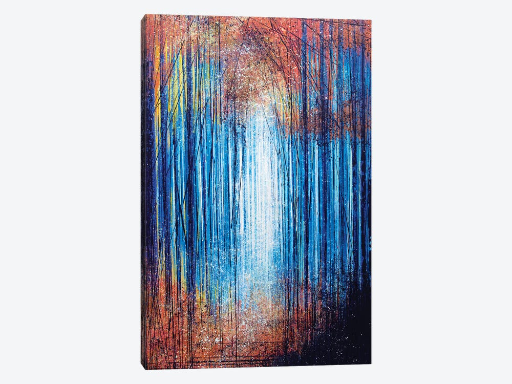 Vivid Light Through Trees by Marc Todd 1-piece Canvas Wall Art